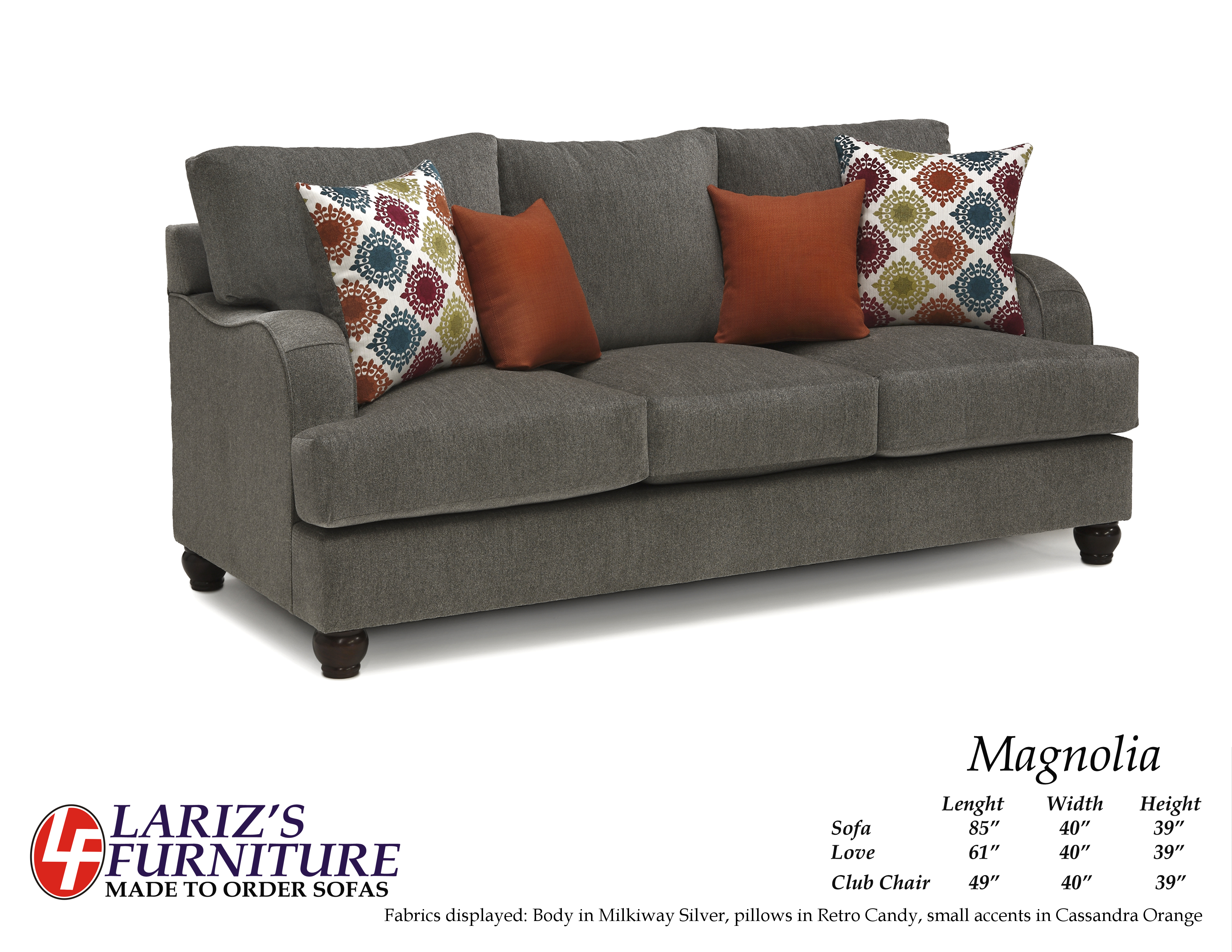 Lariz 39 S Furniture Made To Order Sofas